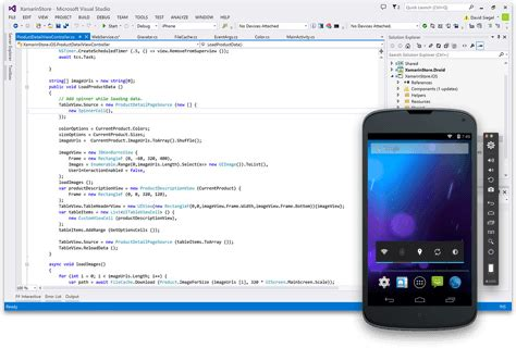 xamarin android simulate android apps with the xamarin android player xamarin