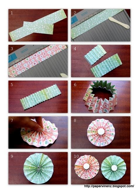 How To Make A Paper Rosette - paper rosettes diy