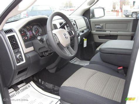 2011 Dodge Ram Interior by Slate Gray Medium Graystone Interior 2011 Dodge Ram