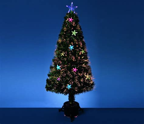 argos fiber optic christmas tree 5ft fibre optic decorations uk billingsblessingbags org
