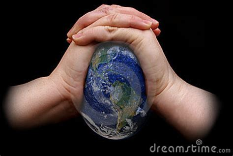 Earth Squeeze Blue squeezing the earth royalty free stock photo image 5008985