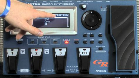 tutorial guitar effects roland gr 55 patch edit tutorial part 2 model guitar