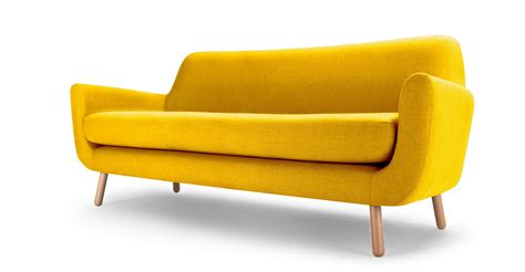 yellow sofa bed clic and functional anfibio yellow sofa