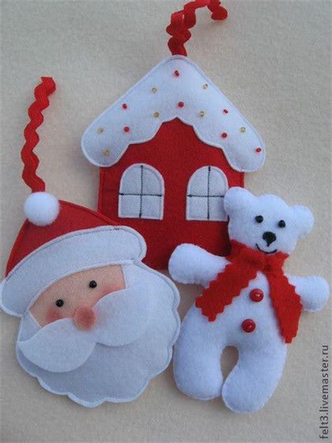 christmas crafts ёлочная игрушка из фетра christmas