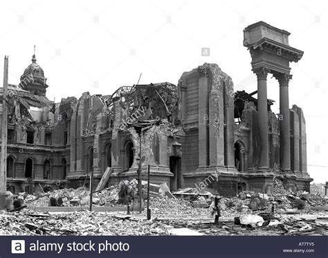 san francisco opera house san francisco opera house after the 1906 earthquake stock