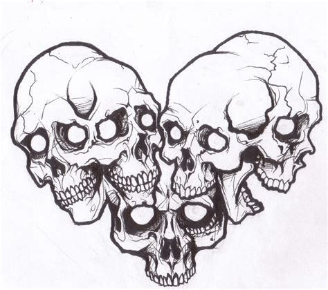 tattoo flash online image detail for skull love tattoo design by demonology