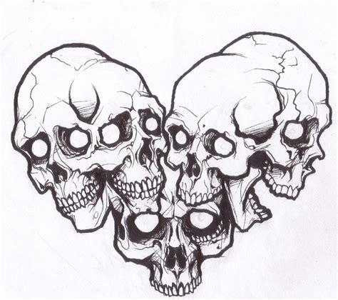skull tattoo tribal free skull stencils free clip free