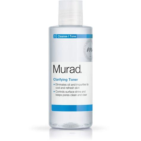 Toner Acnes clarifying toner for acne prone skin murad