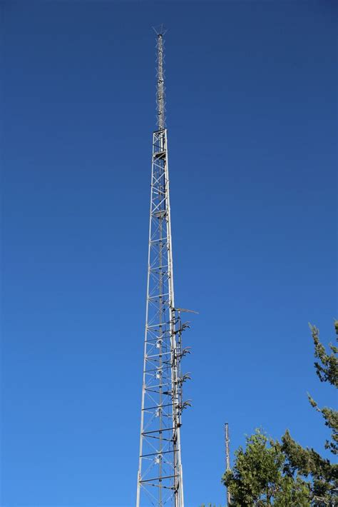 Antenna Tower Locations by 2016 08 16 Mt Wilson 163 Broadcast Transmitters Ham Radio Utility Pole Tower