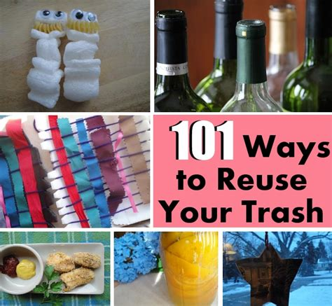 diy how to reuse your 101 ways to reuse your trash diy home things