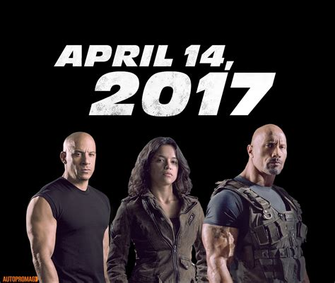 fast and furious 8 actors fast and furious 8 to be released on april 14 2017 cast