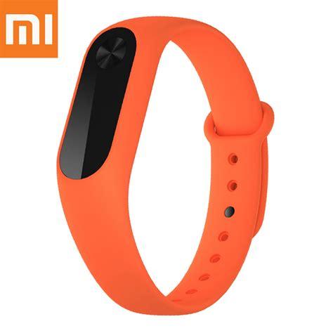 Xiaomi Mi Replacement Band For Xiaomi Mi Band 2 Oem Berkualitas original xiaomi mi band 2 replacement wrist orange