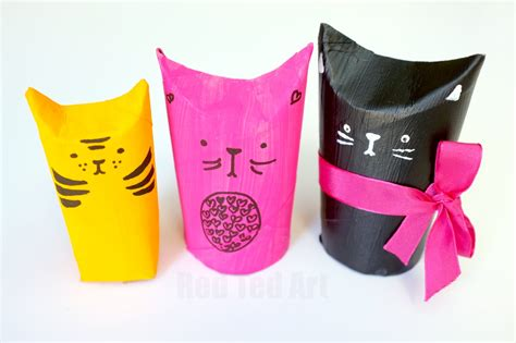 Marvelous Christmas Eve Kids Box #5: Cat-TP-Roll-Gift-Boxes-a-super-cute-upcycled-project-come-gift-wrap-idea.-Fill-with-small-treats-or-something-bigger.jpg