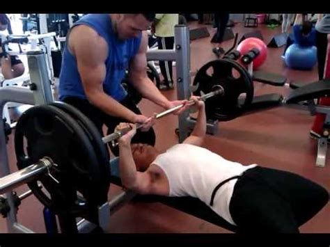 245 bench press benching 225 at 140 body weight youtube