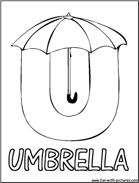 coloring pages for u picture alphabets u coloring page