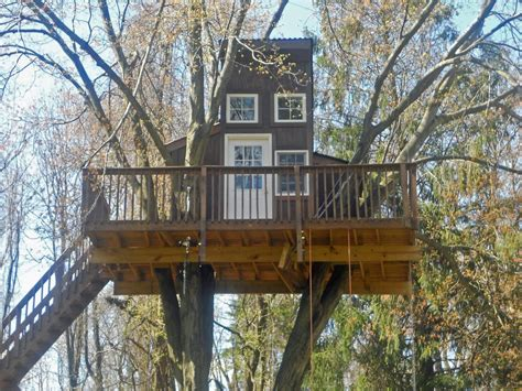 Treehouse For Backyard by Treehouse Designers Guide Living Tree Llc Hgtv
