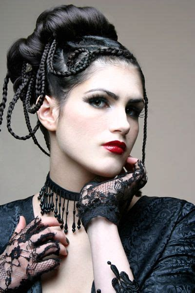 elegant goth hairstyles 200 best images about gothic and amazing ஜ on pinterest