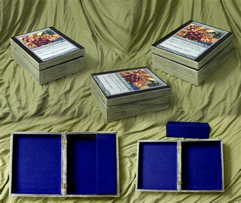 how to make a card deck box juggernaut magic card deck box by morgancrone on deviantart