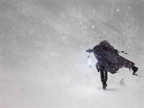 wallpapers art art snow blizzard winter
