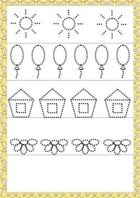 Preschool Writing Worksheets by Common Worksheets 187 Pattern Writing Worksheets For Nursery