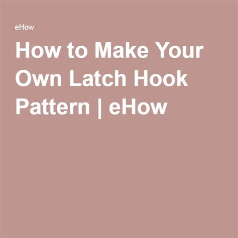 how to make your own rug how to make your own latch hook pattern patterns latch hook rugs and craft
