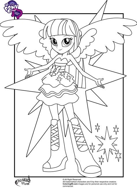 My Little Pony Equestria Girls Coloring Pages Team Colors My Pony Equestria Coloring Pages Twilight Sparkle