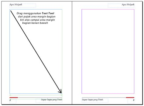 membuat novel grafis membuat layout buku sederhana di indesign kelas desain