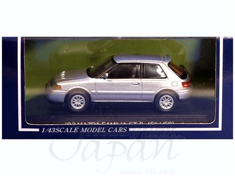 Sapi Model Mazda Familia 1 43 mazda familia 1992 gt r silver by sapi models