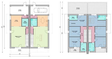 Pianta Casa Bifamiliare by Bifamiliari Archifolder