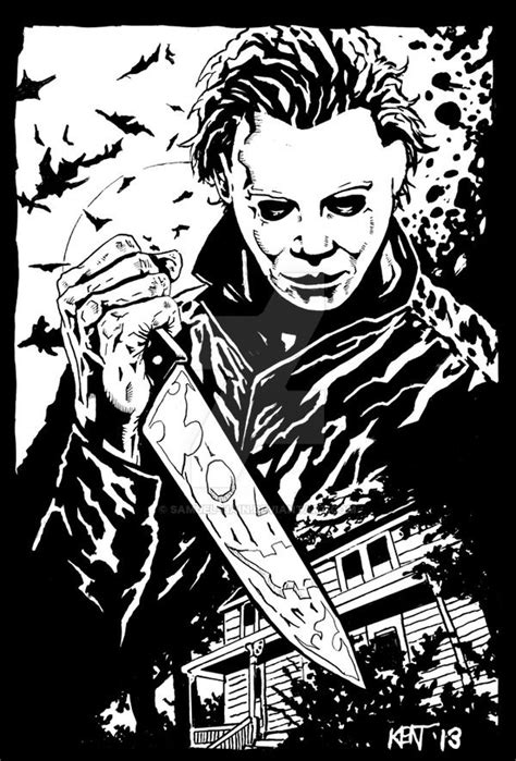 1000 Images About Next Tat Ideas On Pinterest Slasher Michael Myers Coloring Pages