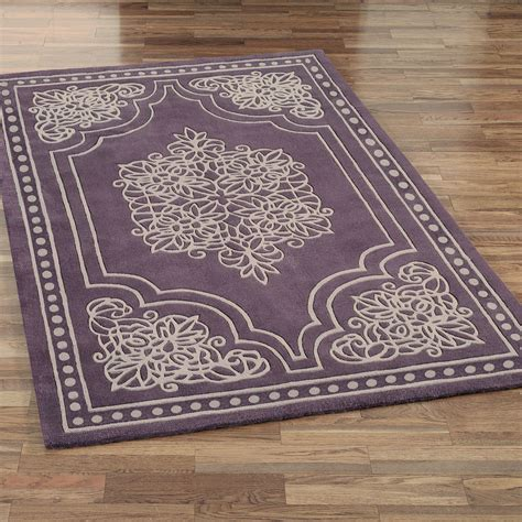 area rugs with purple accents vintage lace area rugs