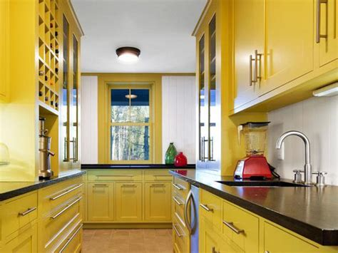 yellow paint for kitchens pictures ideas tips from hgtv kitchen ideas design with