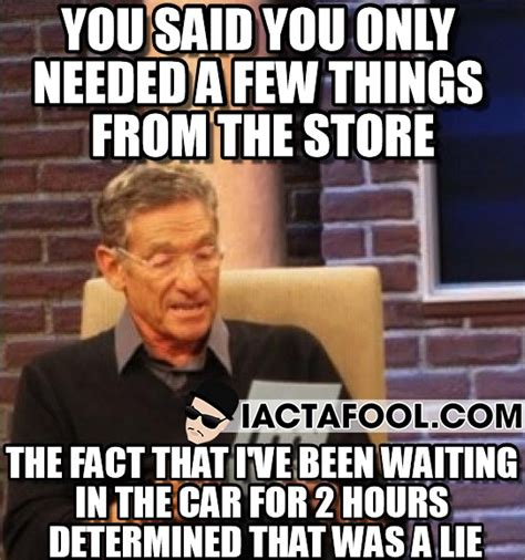 Lies Memes - maury that was a lie quotes quotesgram