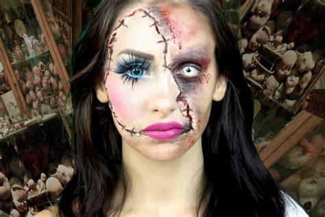 imagenes halloween mujer mujer con un original maquillaje para halloween 44177