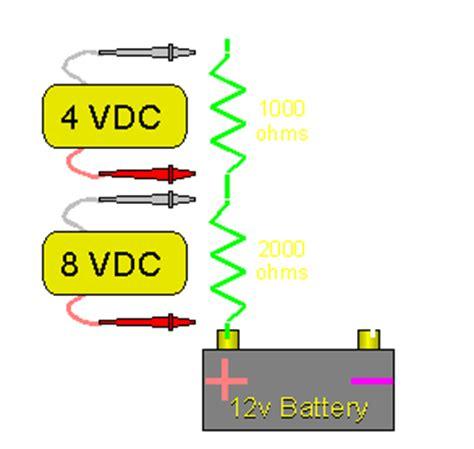 resistor size to drop voltage resistors