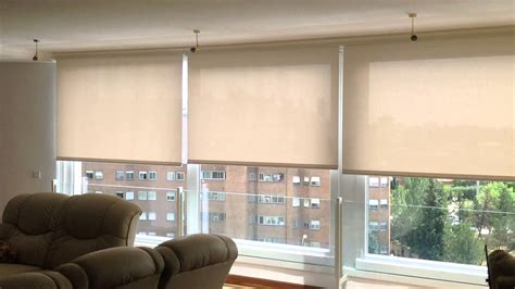 cortinas enrollables cortinas enrollables motorizadas con motor somfy