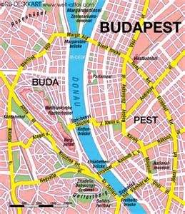 buda and pest and maps on