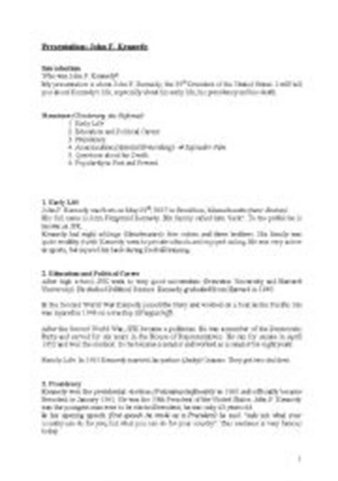 john f kennedy biography 3rd grade english teaching worksheets kennedy