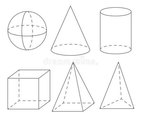 figuras geometricas volume volume geometrische vormen gebied kegel cilinder kubus