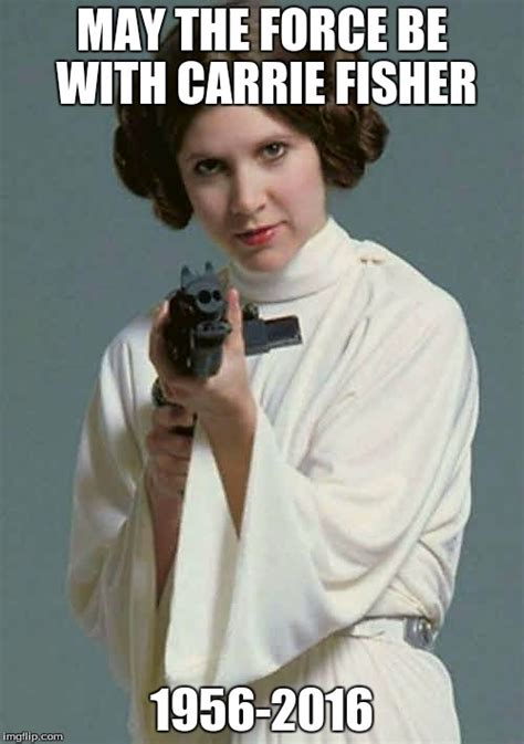 Princess Leia Meme - princess leia carrie fisher imgflip