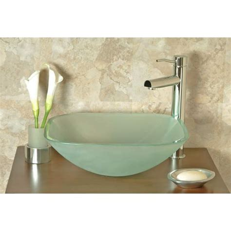 frosted glass vessel sink upgrade your bath tips for choosing a vessel sink a