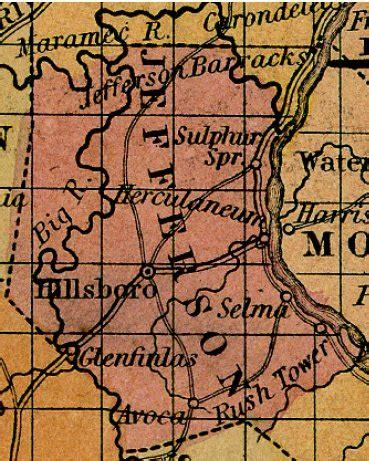 Jefferson County Mo Records Jefferson County Missouri On Usgenweb Project