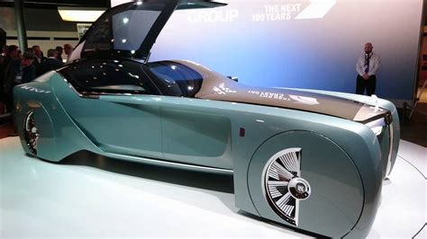 rolls royce vision 100 rolls royce vision next 100 concept youtube