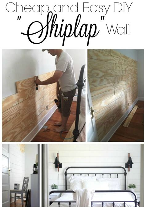 Cheap Shiplap Wall 25 Best Images About Bead Board Plank Shiplap On