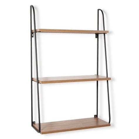 bathroom shelves target for over toilet in bathroom threshold 3 tier wood wall shelf liv h pinterest