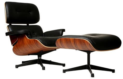 Charles E Style Lounge Chair And Ottoman Style