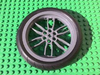 Motorcycle Racing Tread 88517 88516 bricker part lego 88517c01 wheel 75mm d x 17mm