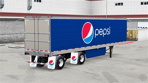 semi trailer truck refrigerated semi trailer for american truck simulator