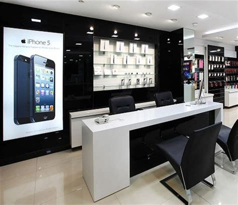 High End House Plans high end cell phone store interior design electronics