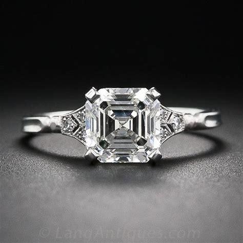 Asscher Cut Engagement Rings by Square Cut Engagement Rings Engagement Rings Wiki